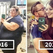 Woman Who Used To Weigh Almost 500lbs Recreates Her Old Photos, And Its Hard To Believe Its The Same Person